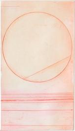 Line inside circle (detail)
