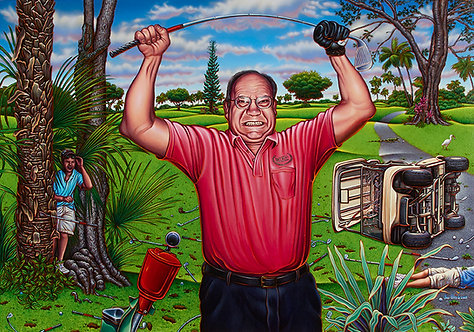 Golfer's Rage