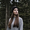 Thumbnail: Recycled Cashmere Headband in Black Ardesia