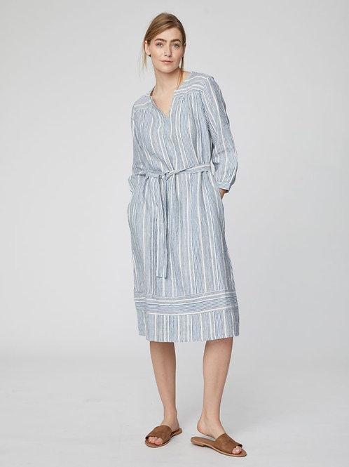 Luis Stripe Midi Dress