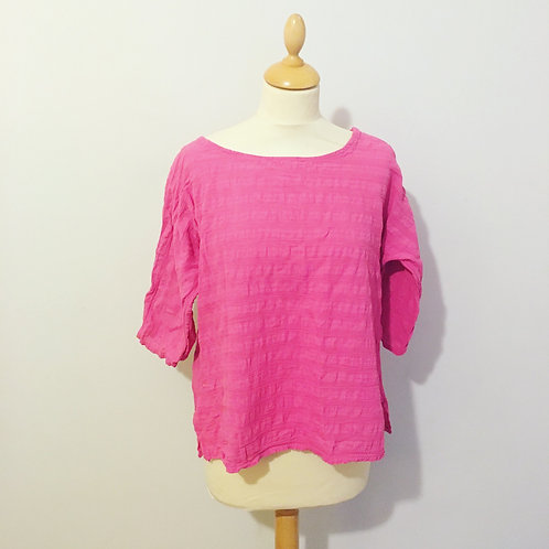 Textured Cotton Top
