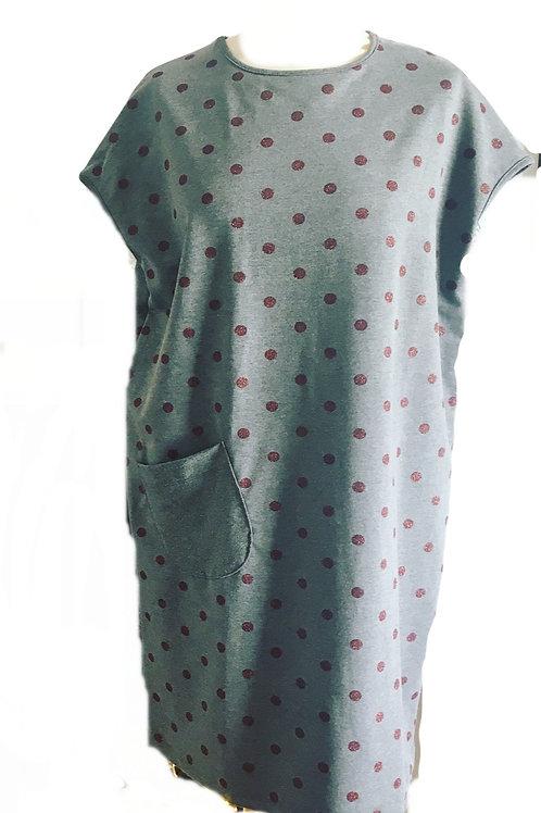 Spot Sweatshirt Dress