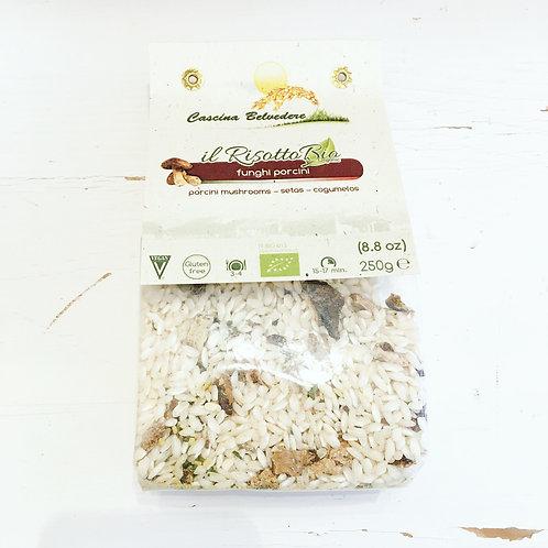 Belvedere Organic Risotto Mix - Porcini Mushroom