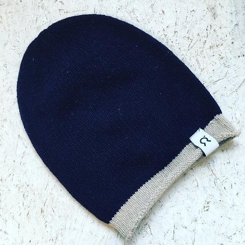 Vittorio Hat in Navy Stripe