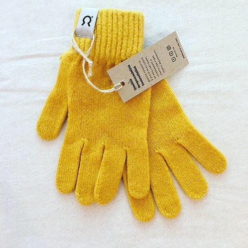 Pier Paolo Gloves in Mimosa Yellow