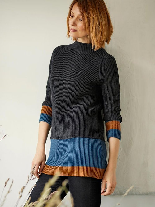 Helmi Jumper in Charcoal