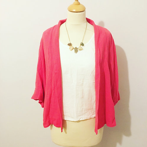 Textured Pink Jacket