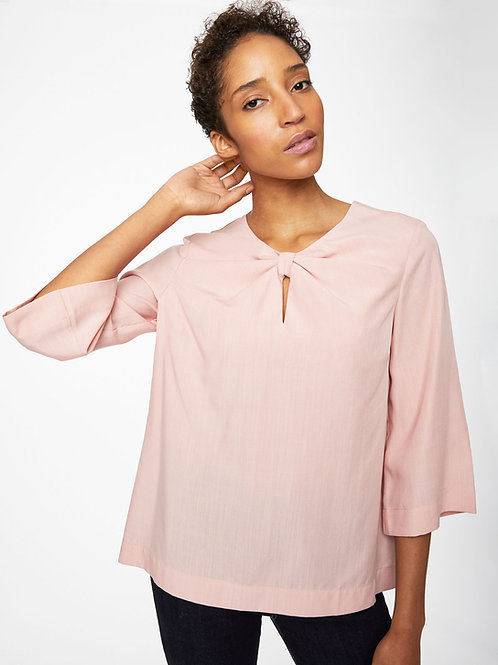 Valentina Blouse in Ballet Pink