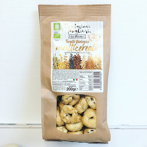 Organic Taralli Multi Cereal Crackers