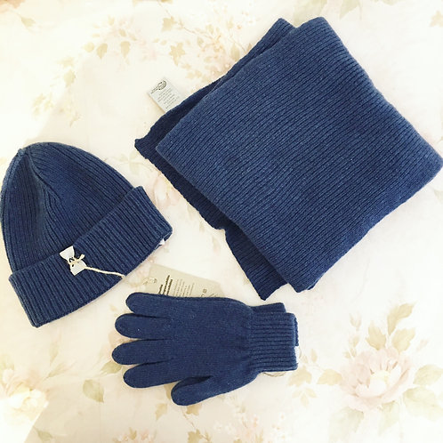 Winter Warmer Bundle - Juniper Blue