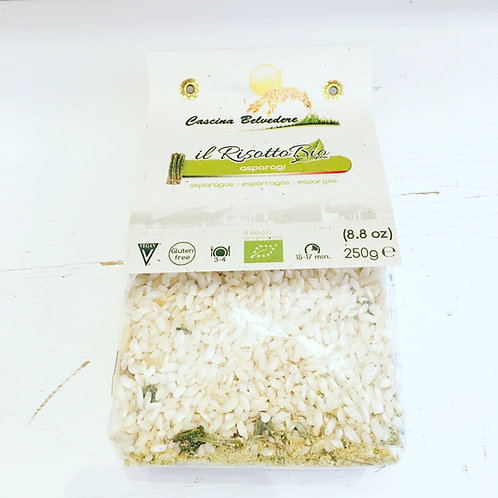 Belvedere Organic Risotto Mix - Asparagus