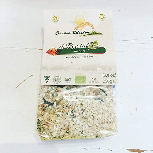 Belvedere Organic Risotto Mix - Vegetable