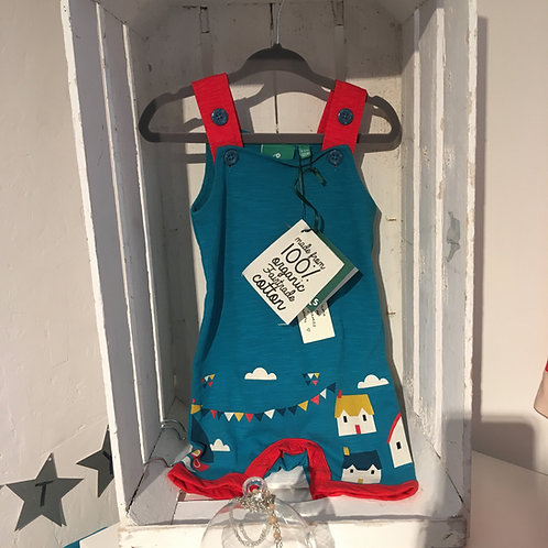 Storytime Dungarees by Little Green Radicals
