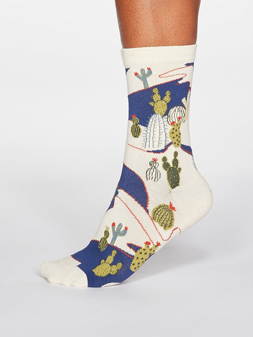 Ettie Cactus Organic Cotton Socks