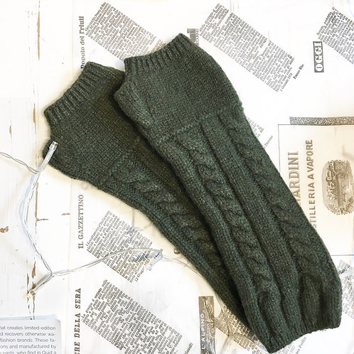 Anna-Maria Gloves in Moss Green