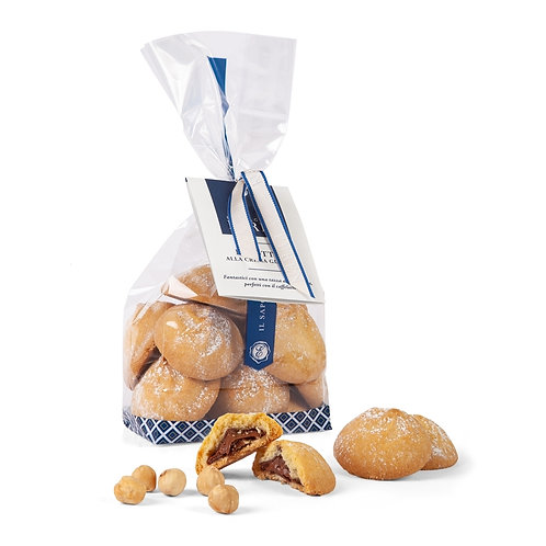 i Dolci di Efren Chocolate and Hazelnut filled Biscuits