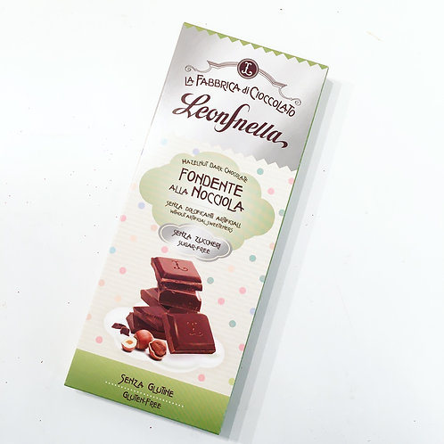 Pastiglie Leone Bean to Bar Sugar-Free Hazelnut Chocolate