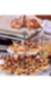 Handmade pastries