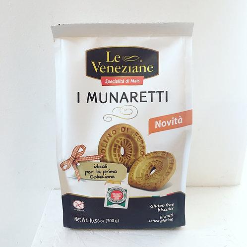 Gluten Free i Munaretti Biscuits
