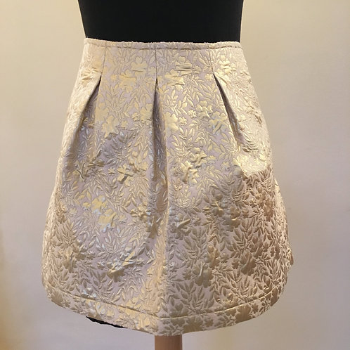 Gold boutique skirt