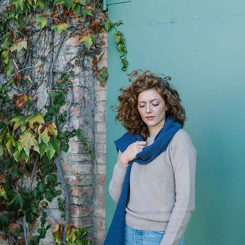 Federico Scarf in Juniper Blue