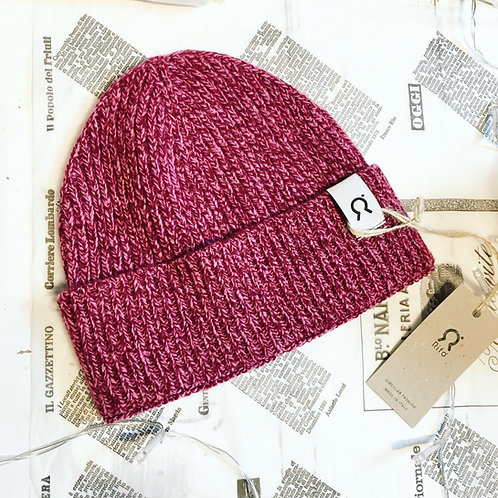 Marcello Hat in Mouline Pink