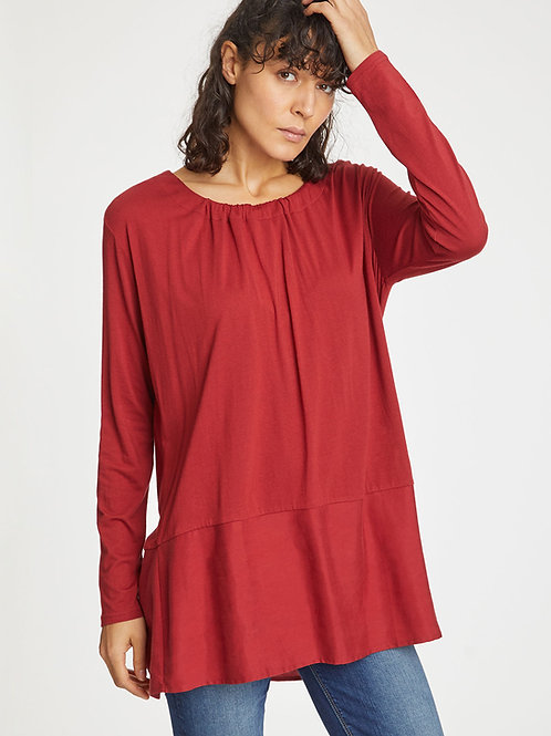 Iona Top in Redcurrant