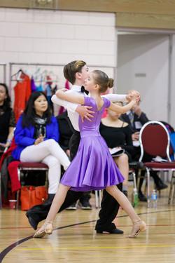 Waltz Ballroom Dance Youth