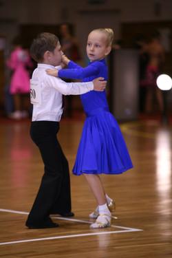 Dance Compeition Waltz Kids