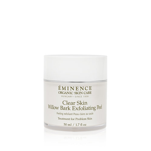 Eminence Organics Clear Skin Willow Bark Exfoliating Peel