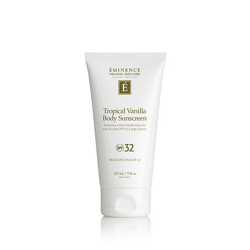 Eminence Organics Tropical Vanilla Body Sunscreen SPF 32