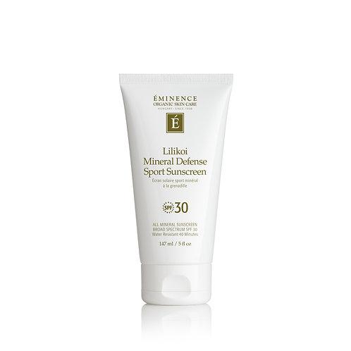 Eminence Organics Lilikoi Mineral Defense Sport Sunscreen SPF 30