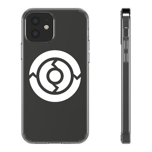 DOJO LOGO CLEAR PHONE CASE — WHITE