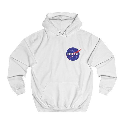 NASA LOGO HOODIE —WHITE