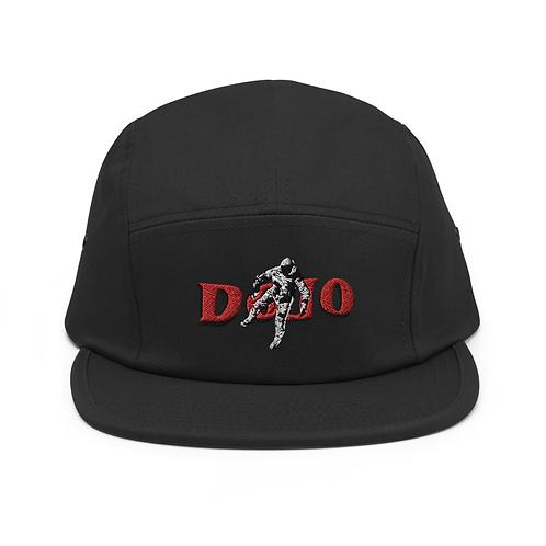ASTRONAUT LOGO HAT — BLACK