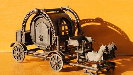 箱ブランコの馬車