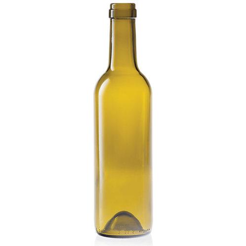 375ml Antique Green Semi-Bord  Mid-Punt Bottle