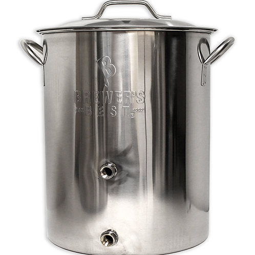 Brewers Best 16 gallon kettle with two ports