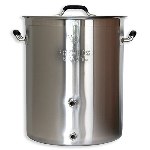 Brewer's BeAst Kettle, 16 gallon with two ports