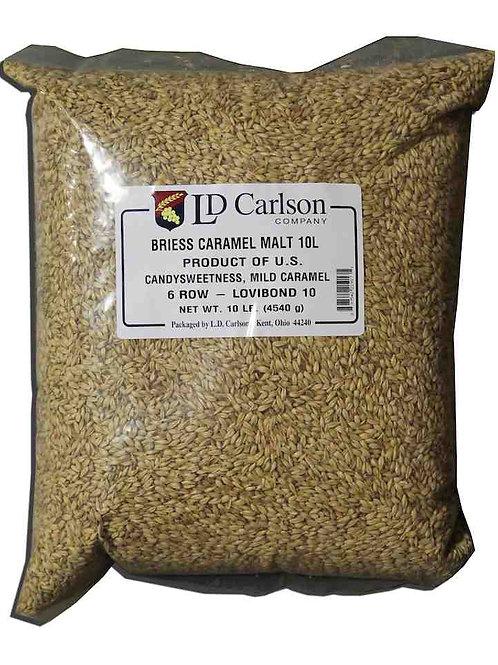 Briess Caramel Malt 2-Row (10L), 10 lb