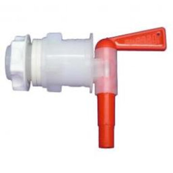 "Italian Bottling Spigot (1"" Bucket Hole, 3/8"" tube connection) Red or Blue"