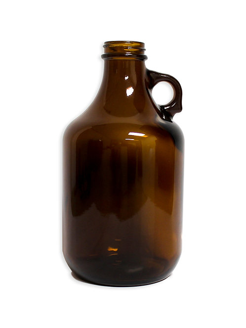 Beer Growlers, Brown, 32 oz, 12 Bottles per case