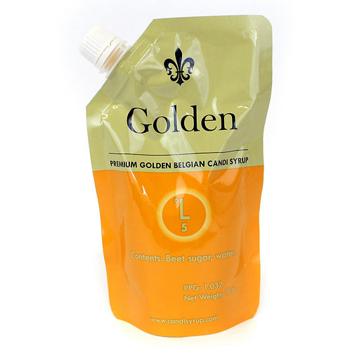Golden Belgian Candi Syrup, 1 lb Pouch