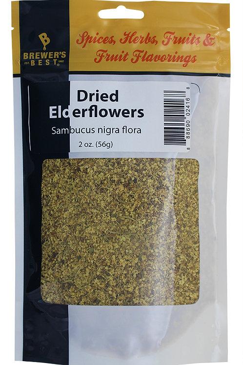 Dried Elderflowers, 2oz