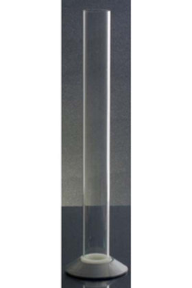 "Plastic Hydrometer Test Jar 12"" - Includes Measurements Red Base"