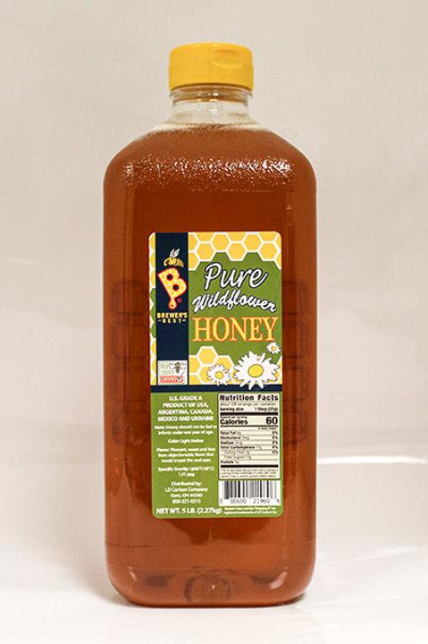 Brewers Best Wildflower Honey, 5 lb jar