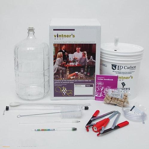 Vintners Wine Equipment Kit