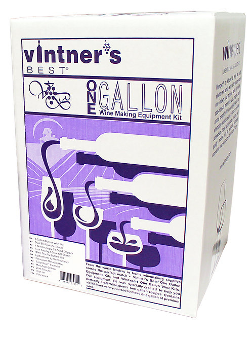 Vintners Wine Equipment Kit, 1 Gallon