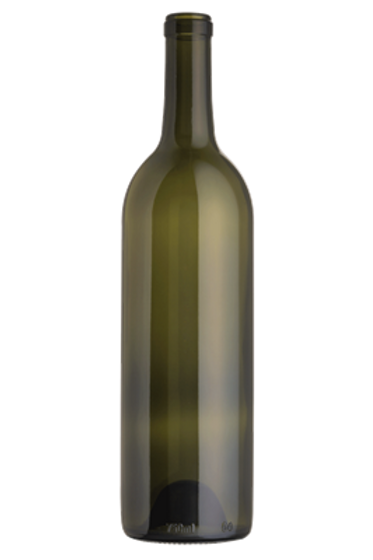 Wine Bottle, Green, Cork, 375 ml