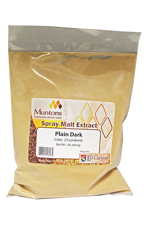 Muntons 3lb Plain Dark Spray Dried Malt Extract